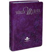 RA065BMRA2 - A Bíblia da Mulher - Média Violeta Nobre