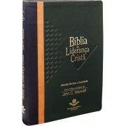 RA085BLC - Bíblia da Liderança Cristã - Azul, Marrom e Verde
