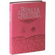 RA085BPRAEEE - A Bíblia da Pregadora - Luxo - Grande - Goiaba