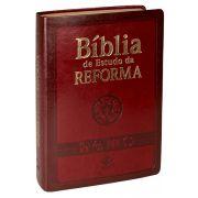 RA085TIBER - Bíblia de Estudo da Reforma - Vinho