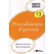 Sinopses Jurídicas 13 - Procedimentos Especiais - 10ª Ed. 2012