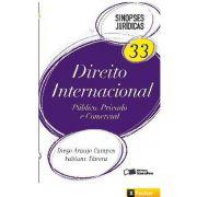 Sinopses Jurídicas 33 - Direito Internacional - Público, Privado e Comercial - 1ª edição 2012