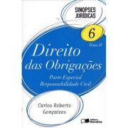 Sinopses Jurídicas 6 - Tomo II - Direito Das Obrigações - Parte Especial - Responsabilidade Civil - 9ª Ed. 2012