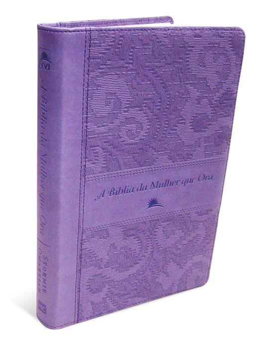 A Bíblia da Mulher que Ora - NVI - Lilás