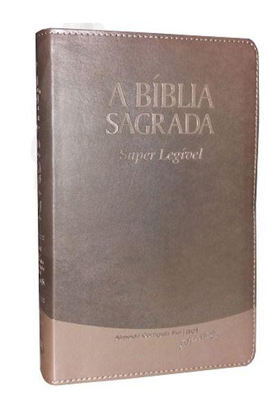 A Bíblia Sagrada - Super Legível - Creme Brulée