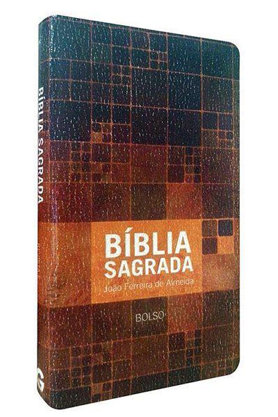 AC.BIB.1773-40.31 - Bíblia Sagrada - RC - Edição de Bolso Luxo Neutra - Estampada
