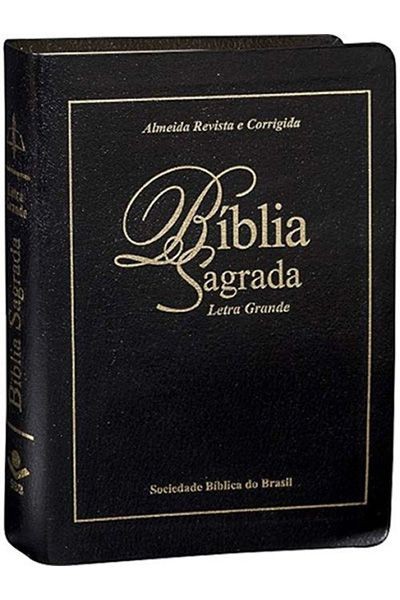 ARC047TILG: Bíblia Sagrada - Letra Grande com Índice - Preta