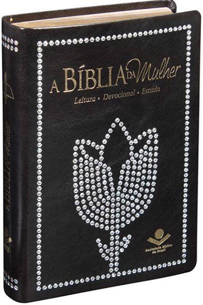 ARC055BM - A Bíblia da Mulher - Média - Preta Nobre