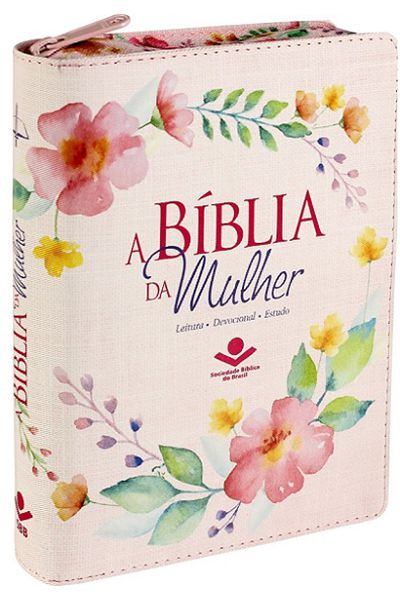 ARC055TIZBM - A Bíblia da Mulher - Média - Zíper e Índice - Impressa
