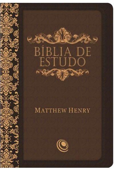 ARC085BEMHSBB - Bíblia de Estudo - Matthew Henry - Marrom