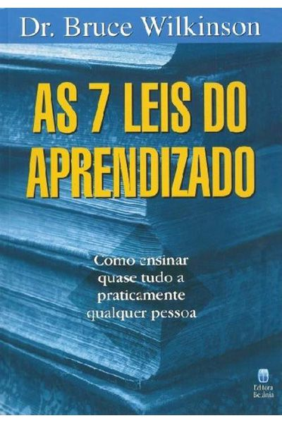 As 7 Leis do Aprendizado