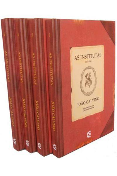 As Institutas - Edição Especial em 4 Volumes