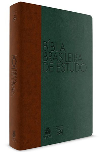Bíblia Brasileira de Estudo - Marrom e Verde