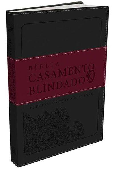 Bíblia Casamento Blindado - Cinza