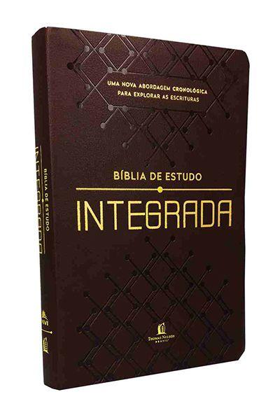 Bíblia de Estudo Integrada - PU Marrom