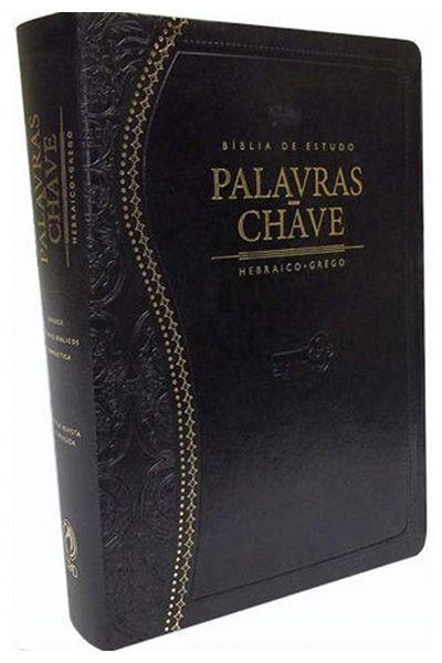 Bíblia de Estudo Palavras-Chave - Luxo Preta