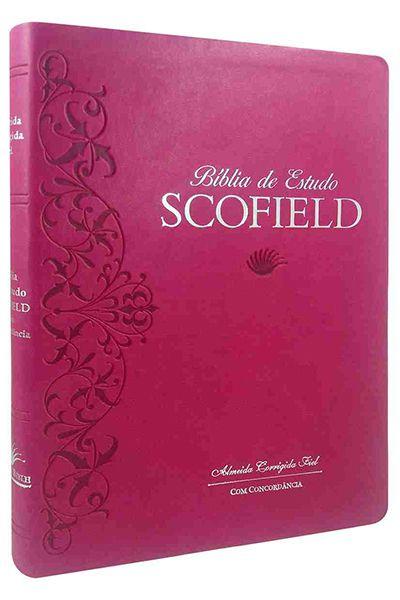 Bíblia de Estudo Scofield - Cereja