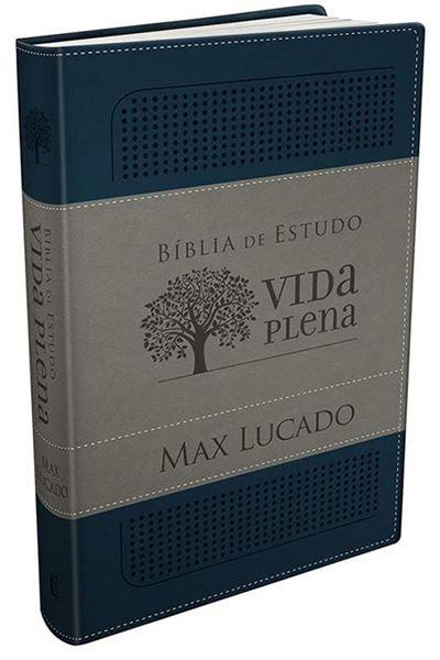 Bíblia de Estudo Vida Plena - Azul