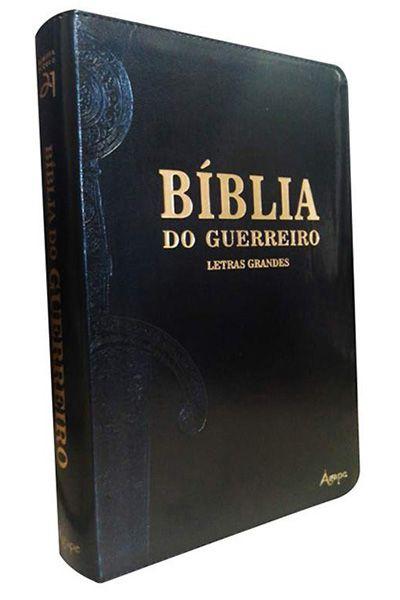 Bíblia Do Guerreiro - Letras Grandes - Preto