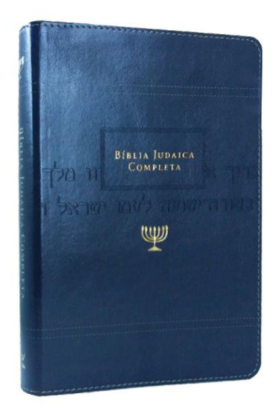 Bíblia Judaica Completa - Capa Onetone Azul