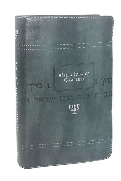 Bíblia Judaica Completa - Capa Onetone Cinza