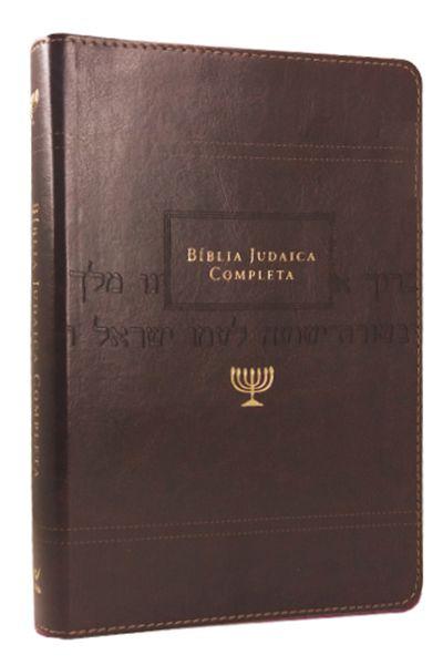 Bíblia Judaica Completa - Capa Onetone Marrom