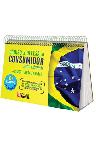 Código de Defesa do Consumidor - Constituição Federal - 6ª Edição Atualizada 2016