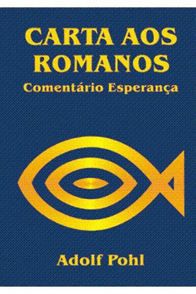 Comentário Esperança - Carta aos Romanos - Capa Dura
