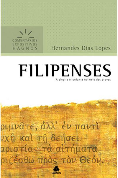 Comentários Expositivos Hagnos - Filipenses
