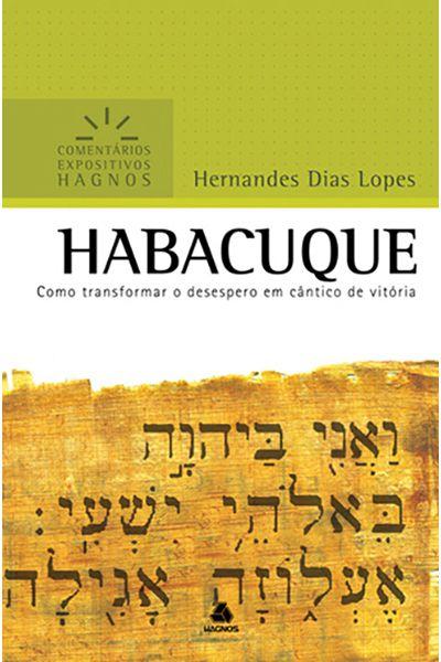 Comentários Expositivos Hagnos - Habacuque
