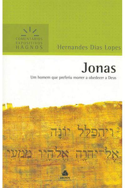 Comentários Expositivos Hagnos - Jonas