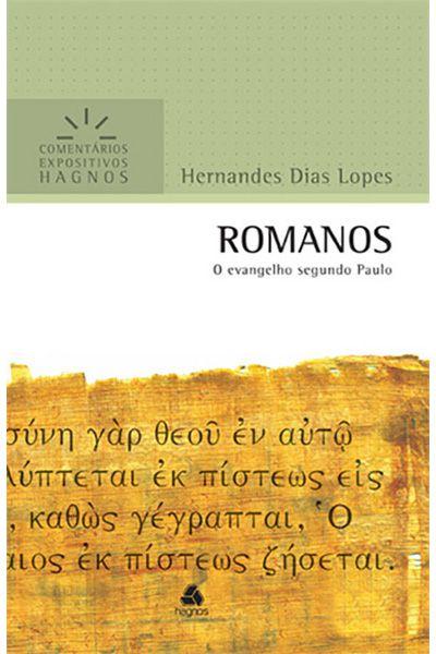 Comentários Expositivos Hagnos - Romanos
