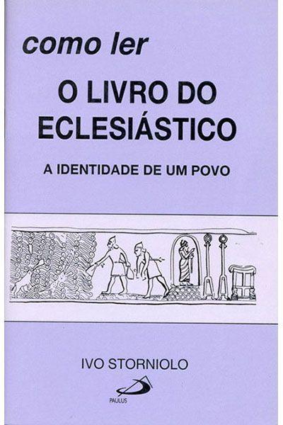Como Ler o Livro do Eclesiástico