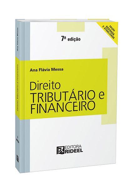 Direito Rideel - Direito Tributário e Financeiro - 7ª Edição