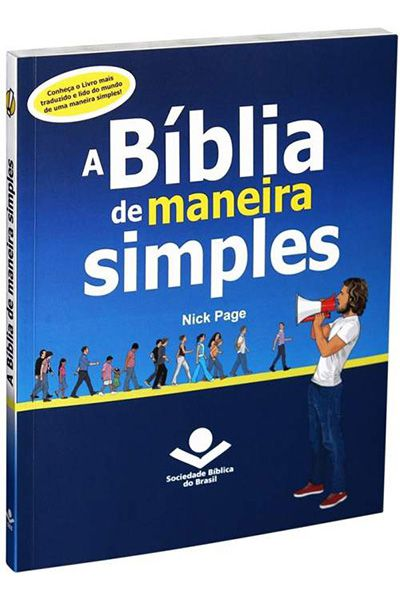 EA960BMS - A Bíblia De Maneira Simples - Brochura