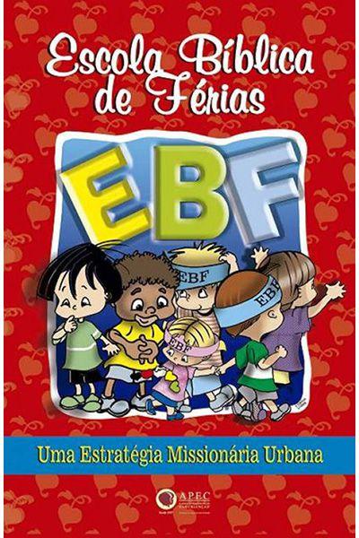 EBF - Escola Bíblica de Férias