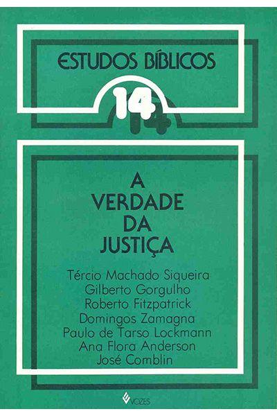 Estudos Bíblicos Vozes - Vol. 14 - A Verdade da Justiça