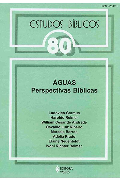Estudos Bíblicos Vozes - Vol. 80 - Águas Perspectivas Bíblicas