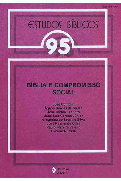 Estudos Bíblicos Vozes - Vol. 95 - Bíblia e Compromisso Social