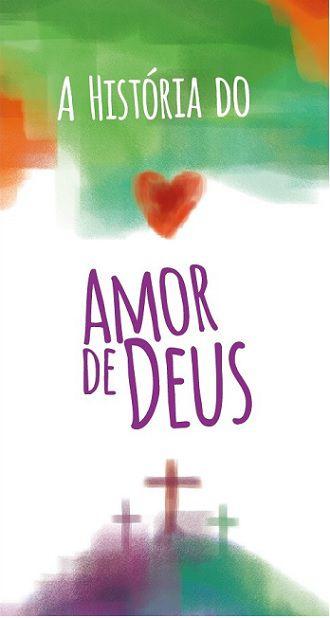 Folheto A História do Amor (Pacote com 100)