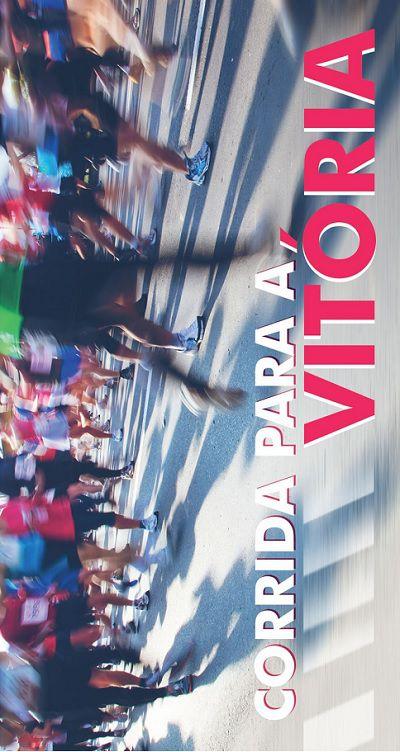 Folheto Corrida para a Vitória (Pacote com 100)
