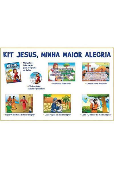 Kit Jesus, Minha Maior Alegria