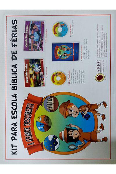 Kit Para Escola Bíblica de Férias: A Grande Descoberta