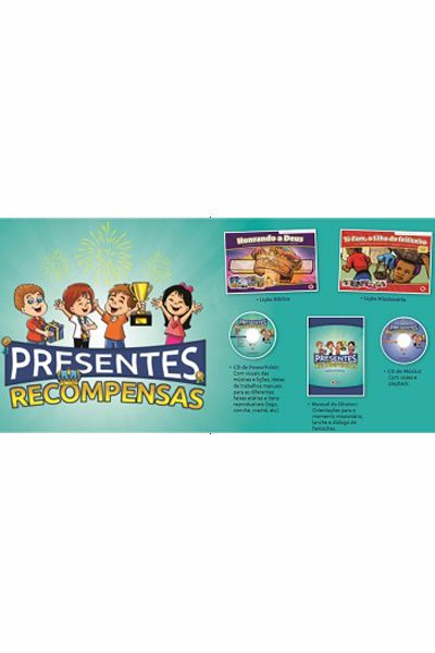 Kit Para Escola Bíblica de Férias - Presentes e Recompensas