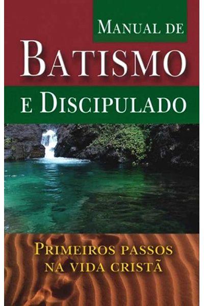 Manual de Batismo e Discipulado