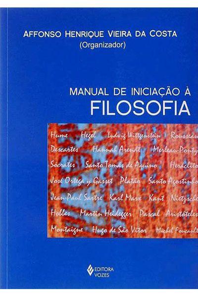 Manual de Iniciação à Filosofia