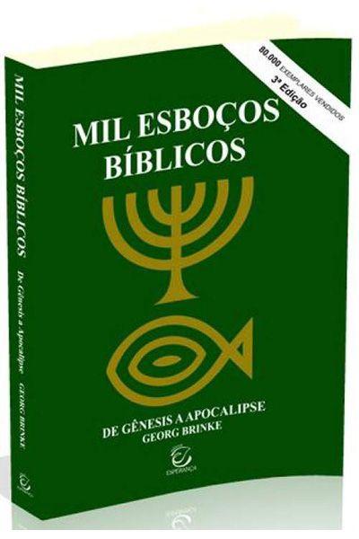 Mil Esboços Bíblicos - Brochura