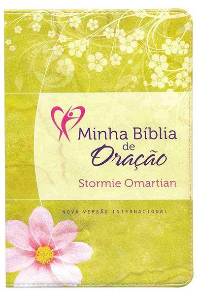 Minha Bíblia de Oração (NVI) - Verde Floral