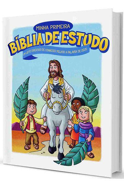 Minha Primeira Bíblia de Estudo - Capa Dura