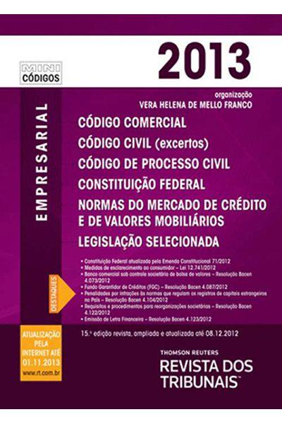 Mini Código Empresarial RT - 15ª Ed. 2013